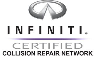 Infiniti certified auto body repair