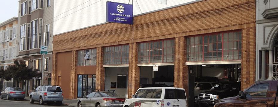 17th Street auto body repair shop location