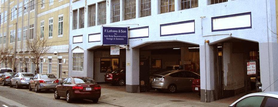Divisadero St auto body repair shop location
