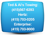 towing and rentals