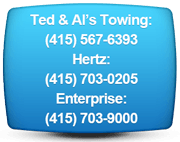 towing and rental