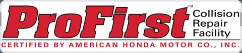 certified Honda auto body repair