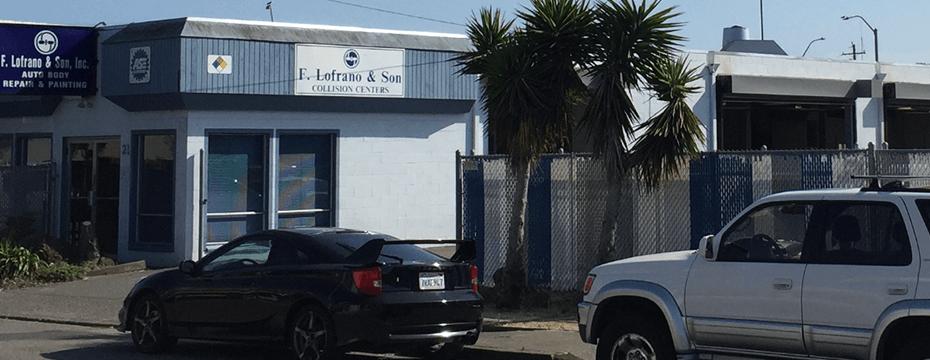 Belvedere Street San Rafael auto body repair shop location