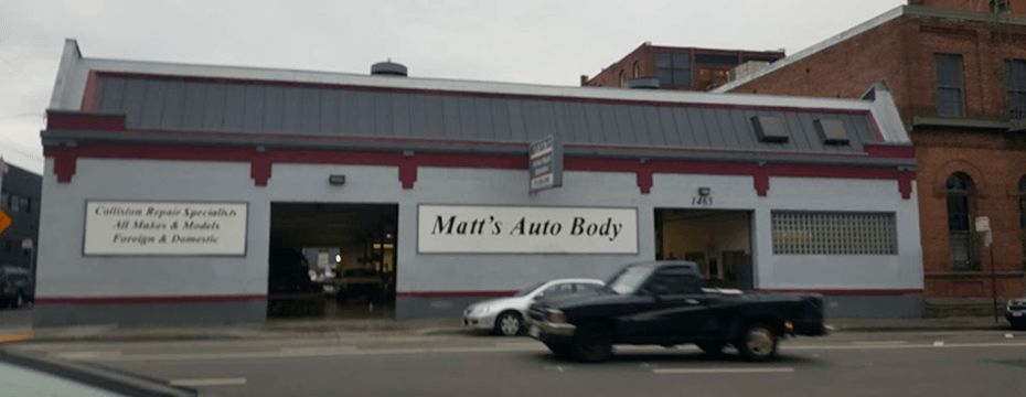 Folsom St Street auto body repair shop location